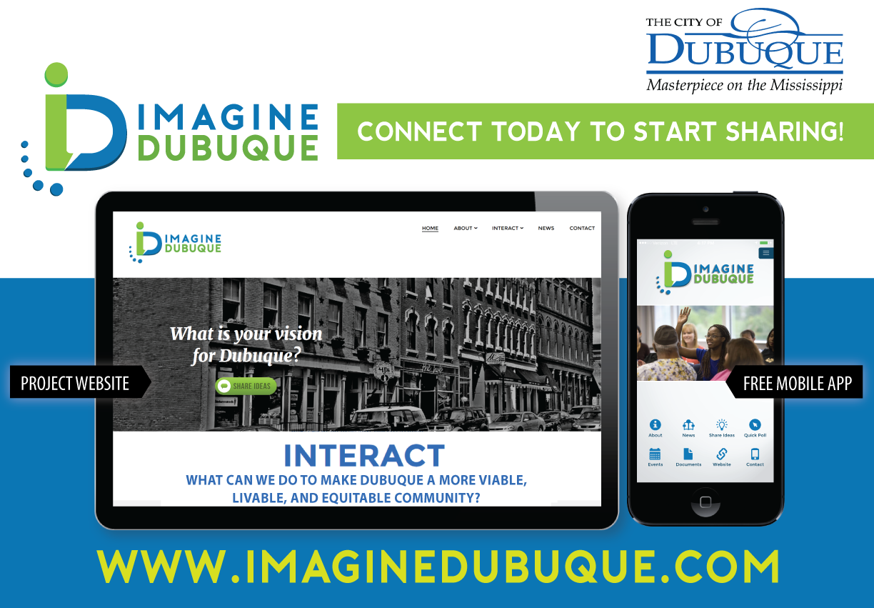 Imagine Dubuque | Share Ideas